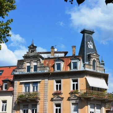 Baden-Baden herrschaftliche Penthouse Wohnung in absoluter Innenstadtlage mit Aufzug und Dachterrasse