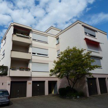 *VERKAUFT* Baden-Baden, sonnige 2-Zimmer Wohnung mit Balkon, Garage sowie Außenstellplatz in ruhiger Innenstadtlage -Vermietet-Kapitalanlage