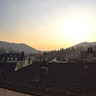 VERKAUFT!! Helle 2 Zimmer Stadtwohnung mit schönem Ausblick auf den Fremersberg