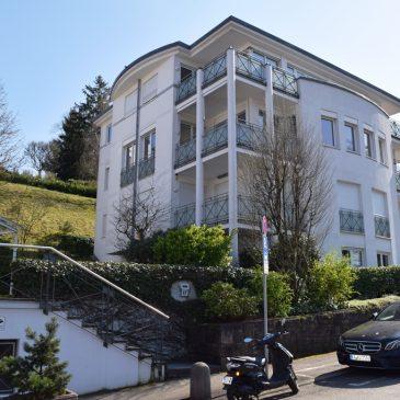 *nicht mehr verfügbar* Exklusive Etagenwohnung mit Traumaussicht über Baden-Baden – direkt am Annaberg in Toplage