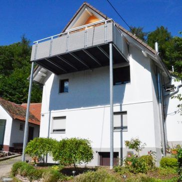 *VERKAUFT* Große und sonnige Maisonette-Wohnung in herrlicher Aussichtslage mit Garten in Baden-Baden Ebersteinburg