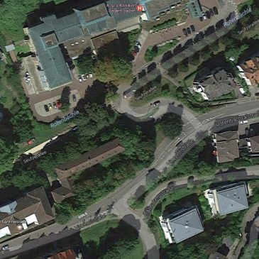 *nicht mehr verfügbar* 2 Wohnungen – 3 Zimmerwohnung und 1 Zimmerwohnung im Herzen von Baden-Baden gegenüber der Caracalla Therme – Sanierungsbedarf
